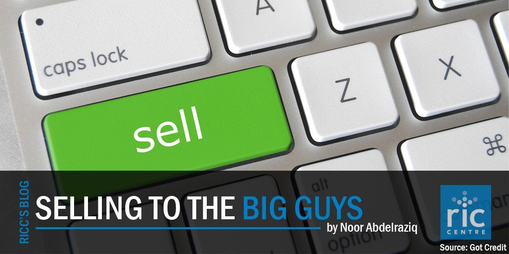 Selling to the big guys