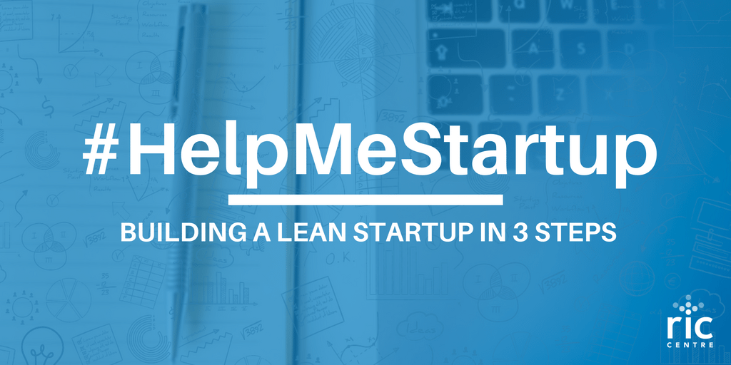 building a lean startup graphic