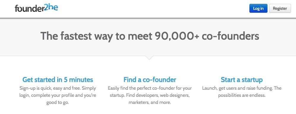 Founder2be screenshot