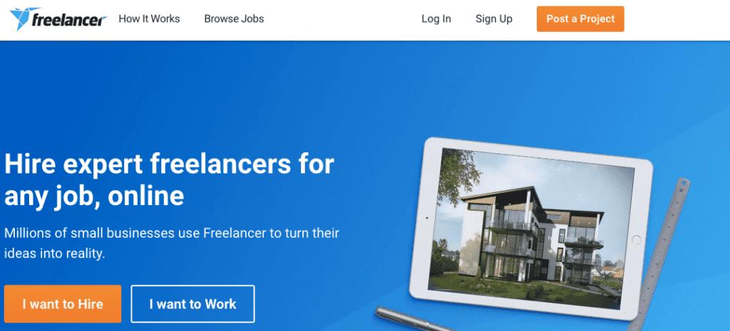 Freelancer screenshot