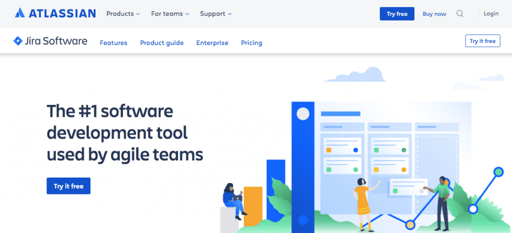 Jira - technical communication tools for software startups