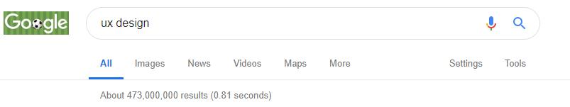 Google user experience design example