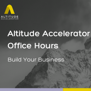 Altitude Accelerator Office Hours