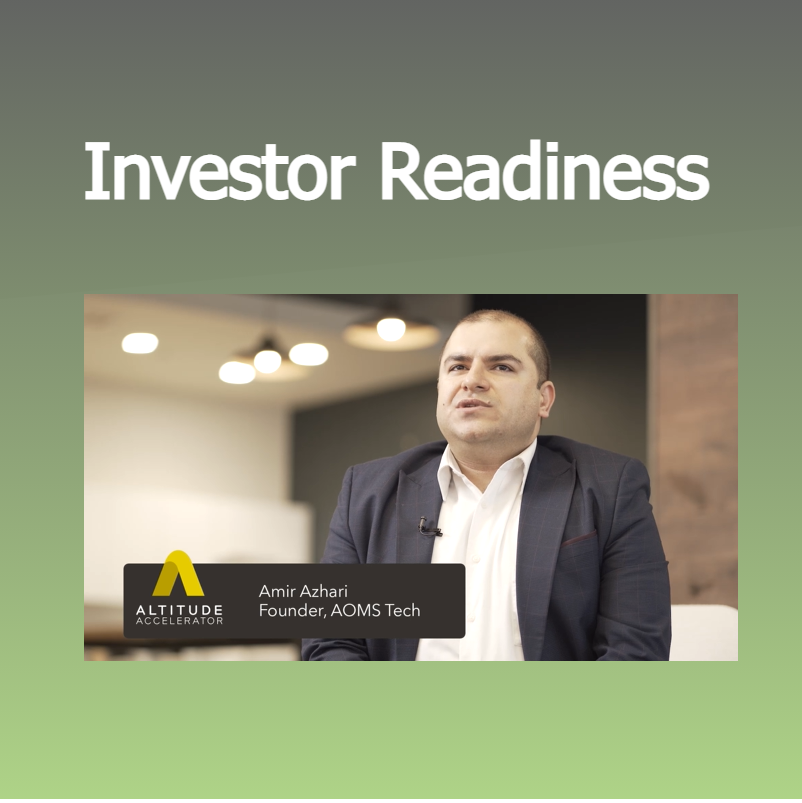 Investor Readiness program Altitude Accelerator